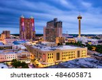 San Antonio  Texas  Us Skyline.