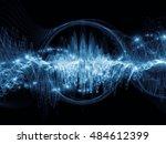 wave visualization series....   Shutterstock . vector #484612399