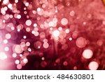 red bokeh background | Shutterstock . vector #484630801