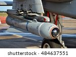 Small photo of Panama City, USA - April 11, 2015: An Air Force AGM-65 Maverick missile on an A-10 Warthog attack jet at Tyndall Air Force Base. The Maverick is an air-to-ground missile designed for close air support