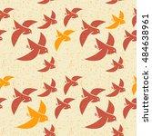 seamless vector pattern of... | Shutterstock .eps vector #484638961