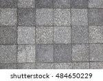 Gray Square Pavement. Seamless...