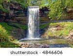 minnehaha falls minneapolis   Shutterstock . vector #4846606
