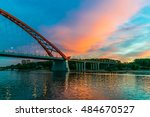 sunset river | Shutterstock . vector #484670527