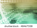 corporate abstract as a modern... | Shutterstock . vector #48467338