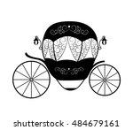pink princess cinderella...   Shutterstock .eps vector #484679161