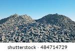 a lot of money. million dollar... | Shutterstock . vector #484714729