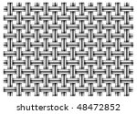 pattern of metal grid as white... | Shutterstock .eps vector #48472852