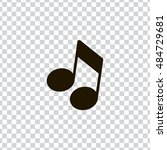 musical note icon vector  clip...