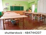 the class of kindergarten for... | Shutterstock . vector #484744207