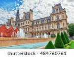 Hotel De Ville In Paris  Is Th...
