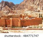 monastery of st. catherine in... | Shutterstock . vector #484771747