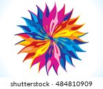 abstract artistic detailed... | Shutterstock .eps vector #484810909