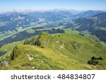 summit panoramic view from...   Shutterstock . vector #484834807