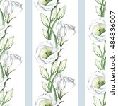 white flowers 4. a wreath for... | Shutterstock . vector #484836007