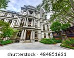 Front Of Old City Hall In...