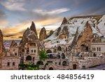 cappadocia  anatolia  turkey....   Shutterstock . vector #484856419