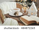 christmas or new year... | Shutterstock . vector #484872265