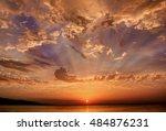 sunrise at assos  turkey | Shutterstock . vector #484876231