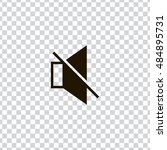 mute sound icon vector  clip...