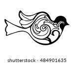 decorative symbol bird