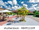 cayo coco memories flamenco ... | Shutterstock . vector #484911109