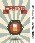 beer logo. beer festival.beer... | Shutterstock .eps vector #484941931