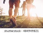 keep moving  close up rear view ... | Shutterstock . vector #484949821