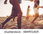 unstoppable. group of young... | Shutterstock . vector #484951405