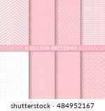design 8 chic different vector... | Shutterstock .eps vector #484952167