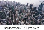 top view aerial photo from... | Shutterstock . vector #484957675