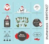 christmas element | Shutterstock .eps vector #484974427