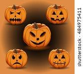 abstract vector illustration of ... | Shutterstock .eps vector #484975411