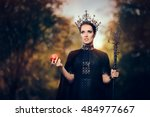 Evil Queen With Poisoned  Appl...