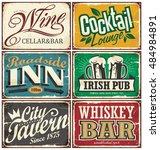 Vintage Tin Signs