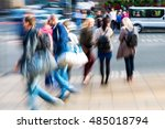 picture with creative zoom...   Shutterstock . vector #485018794