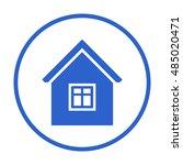 home  icon. flat design.