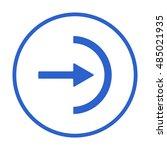 arrow  icon. flat design.