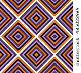 seamless pattern in halloween... | Shutterstock .eps vector #485023969