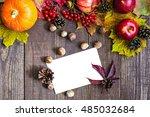 Blank White Thanksgiving...