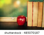 back to school background | Shutterstock . vector #485070187