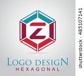 z letter in the hexagonal logo. ...