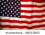 american flag background | Shutterstock . vector #48512842