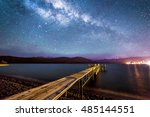 Night Milkyway With Wooden...