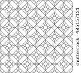seamless geometric pattern.... | Shutterstock .eps vector #485157121