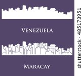 maracay  venezuela | Shutterstock .eps vector #485173951
