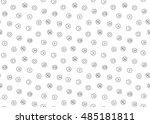 sound voice multimedia seamless ... | Shutterstock . vector #485181811