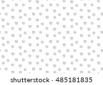 time clock seamless background.  | Shutterstock . vector #485181835