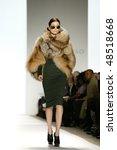 New York   February 16  Models...