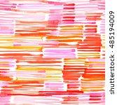 watercolor seamless pattern.... | Shutterstock . vector #485194009